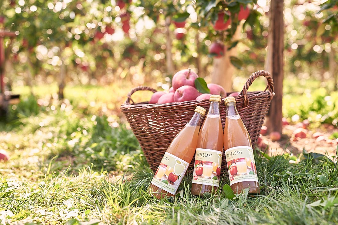 Lifestyle Shooting Obsthof Bodensee, Apfelsaft