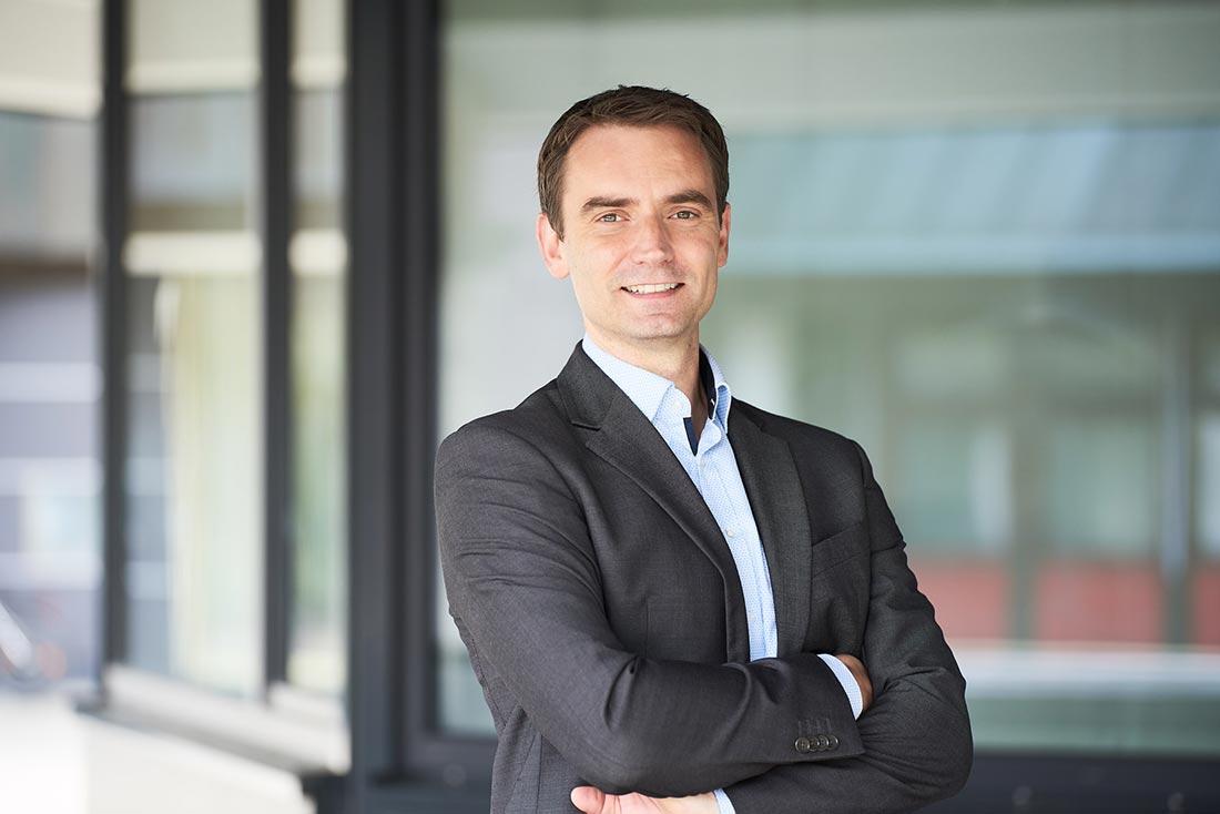 Businessportrait Geschäftsführer Stadtwerke