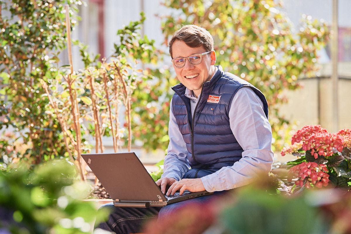 Firmenportrait Irsslinger Blumengroßhandel bei Sigmaringen
