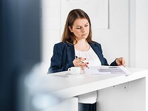 Business Porträt Geschäftsführerin Tübingen