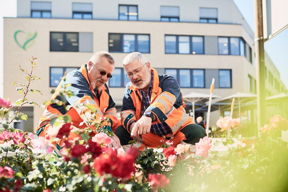 Werbefotografie_Moessingen_Stadtleben_Fotograf_Tourismusmarketing_Pflanzenpflege_Arbeitssituation