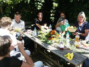 Fotoshooting Business Portraits hinter den Kulissen, schwäbische Alb