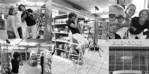 Behind the scenes Albgold Fotoshooting schwäbische Alb