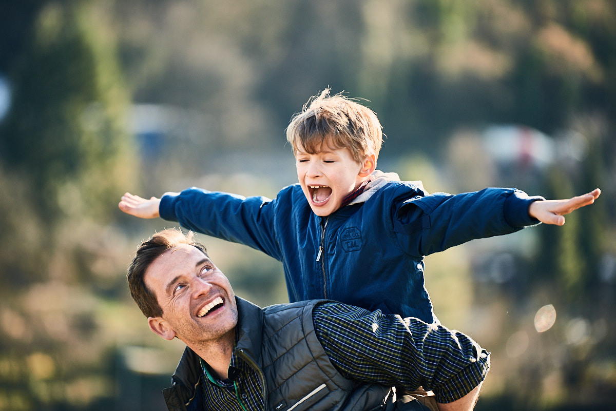 Lifestyle Fotografie, Werbefotograf, Vater-Sohn-Tag, Weinberg, Bodensee