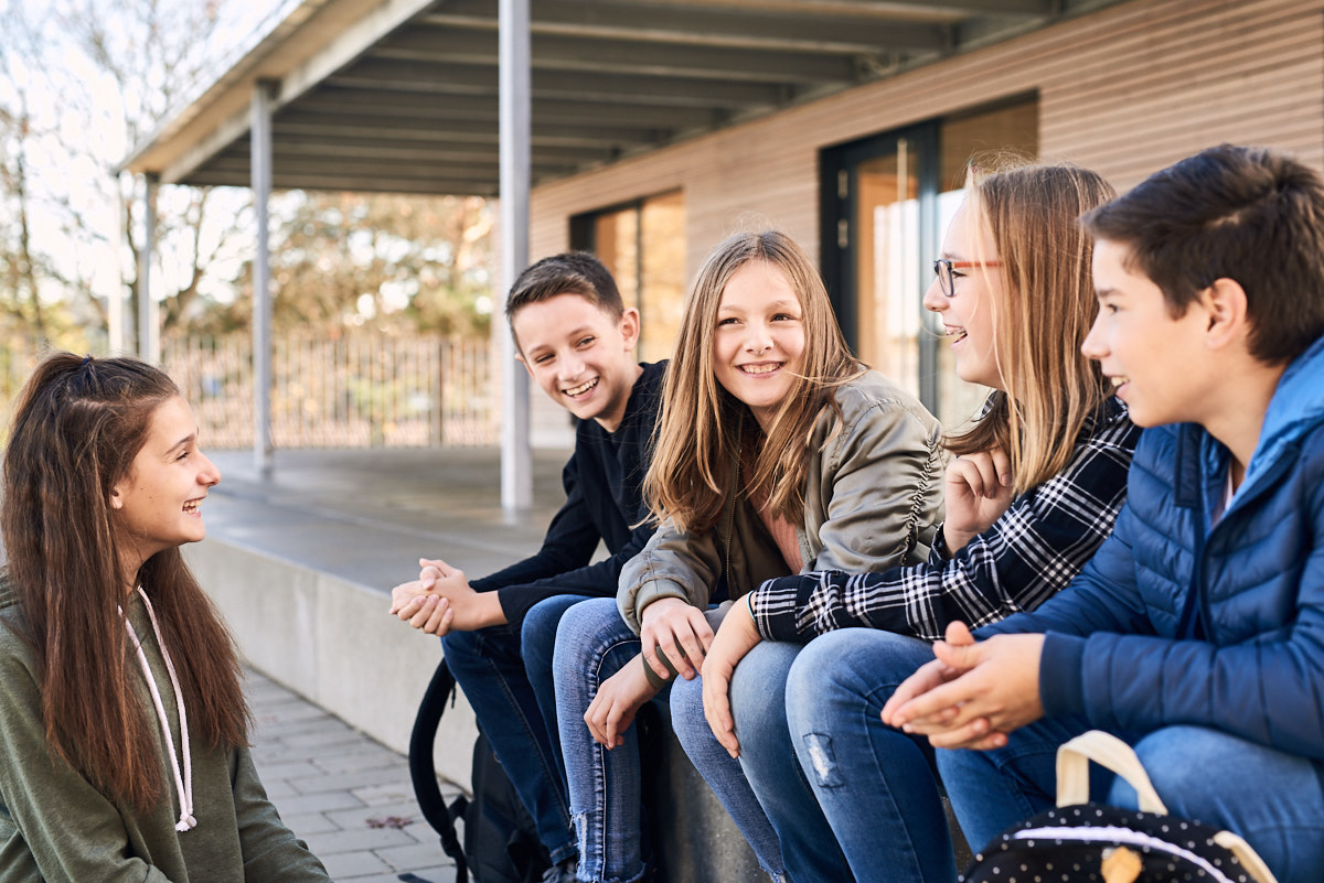 Werbefotografie Tourismusmarketing Stadt Trochtelfingen, Stadtleben auf der schwäbischen Alb , Schule