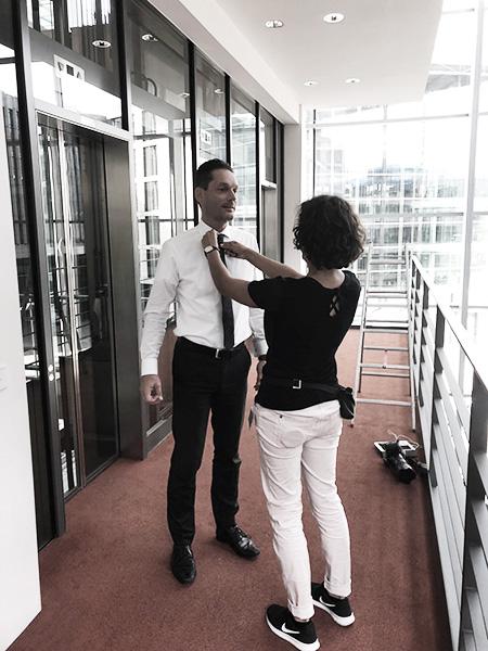 Fotoshooting_behindthescenes_stuttgart, Business Fotoshooting Stuttgart