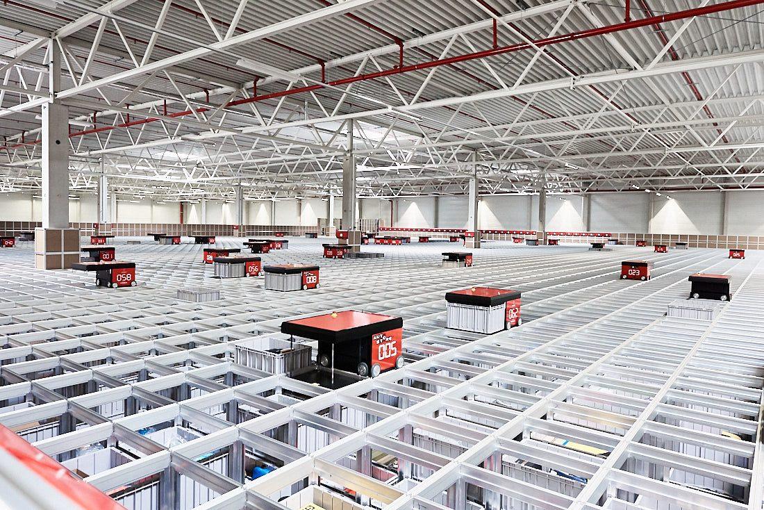 Architekturfoto Lager und Produktion