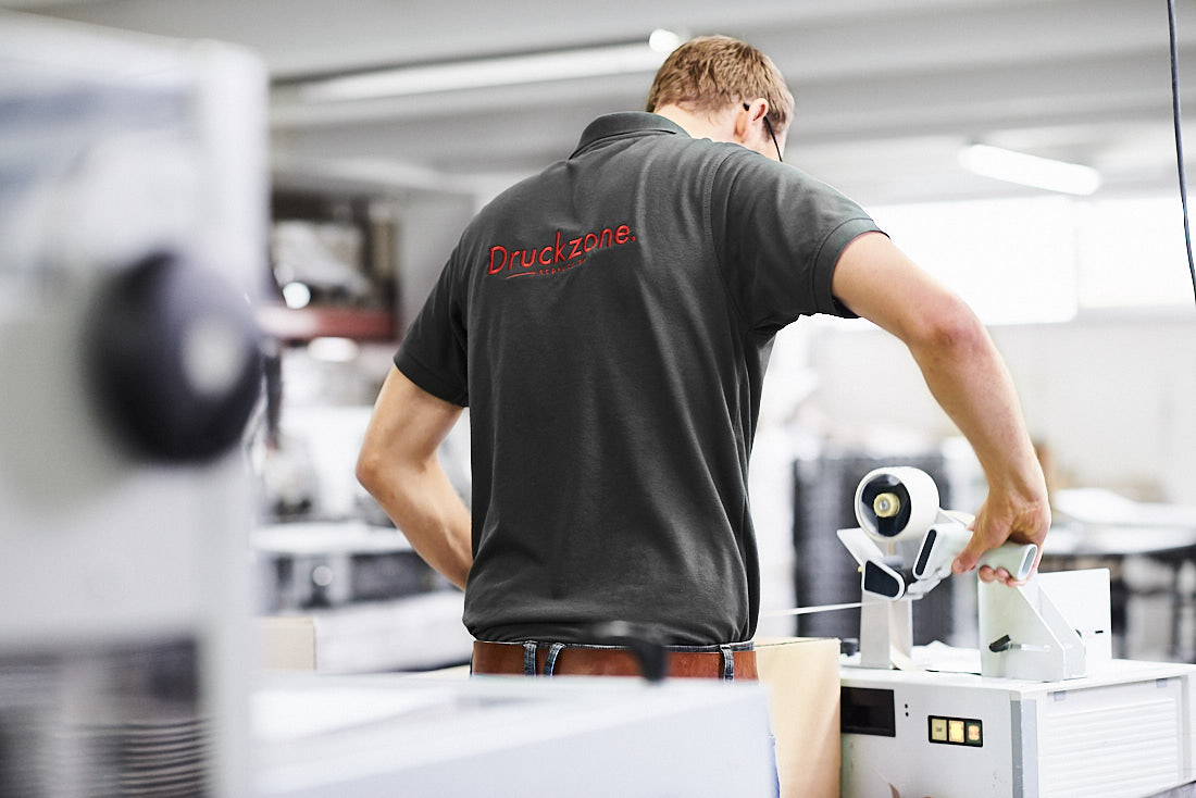 unternehmensfotograf für firmenportrait, business Fotoshooting in einer Druckerei und Produktion