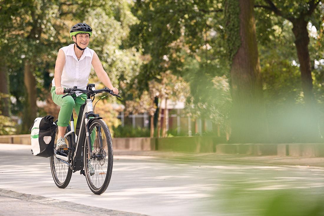 Werbefotoshooting, Werbefotografie für Hessisches Ministerium für Wirtschaft und Verkehr, Thema Nahmobilität, Fahrradfahren