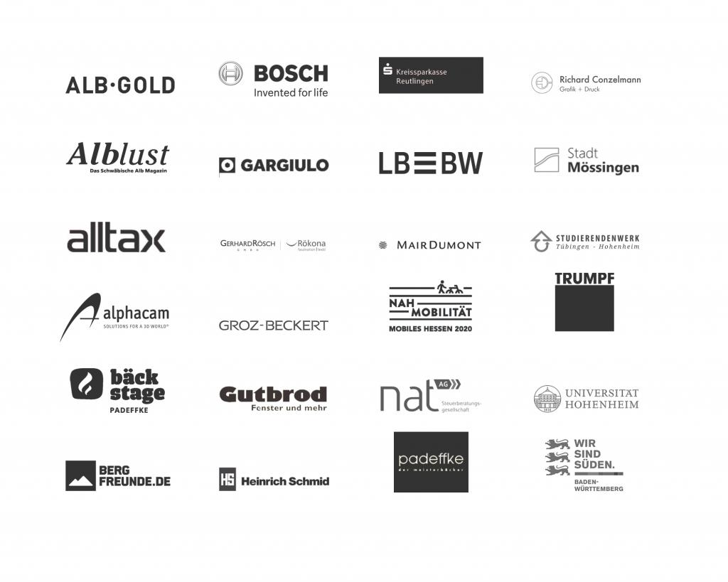 Logos Kunden Referenzliste