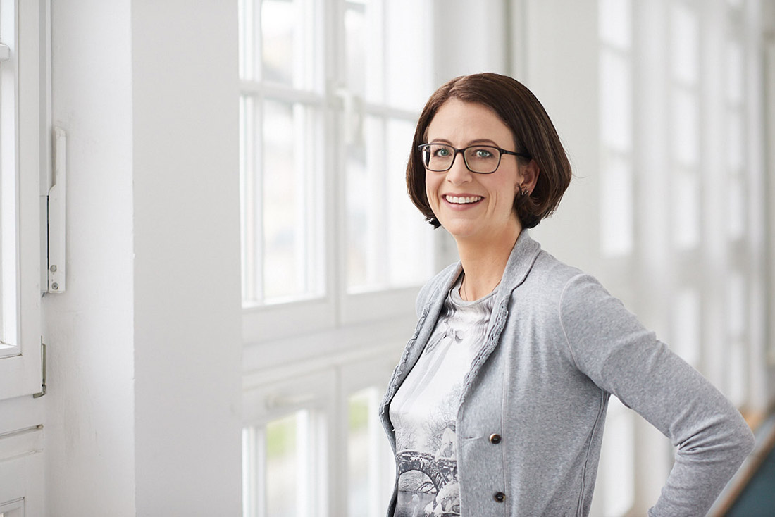 Business Portrait Frau Managerin Stuttgart