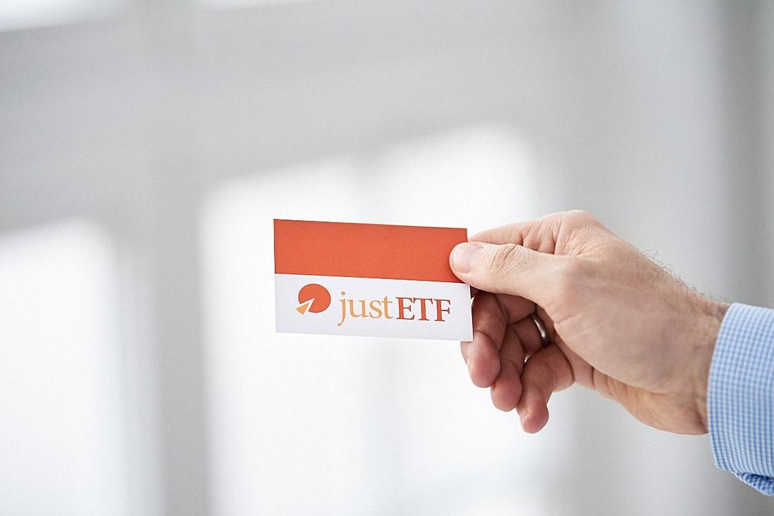 Business Visitenkarte justETF