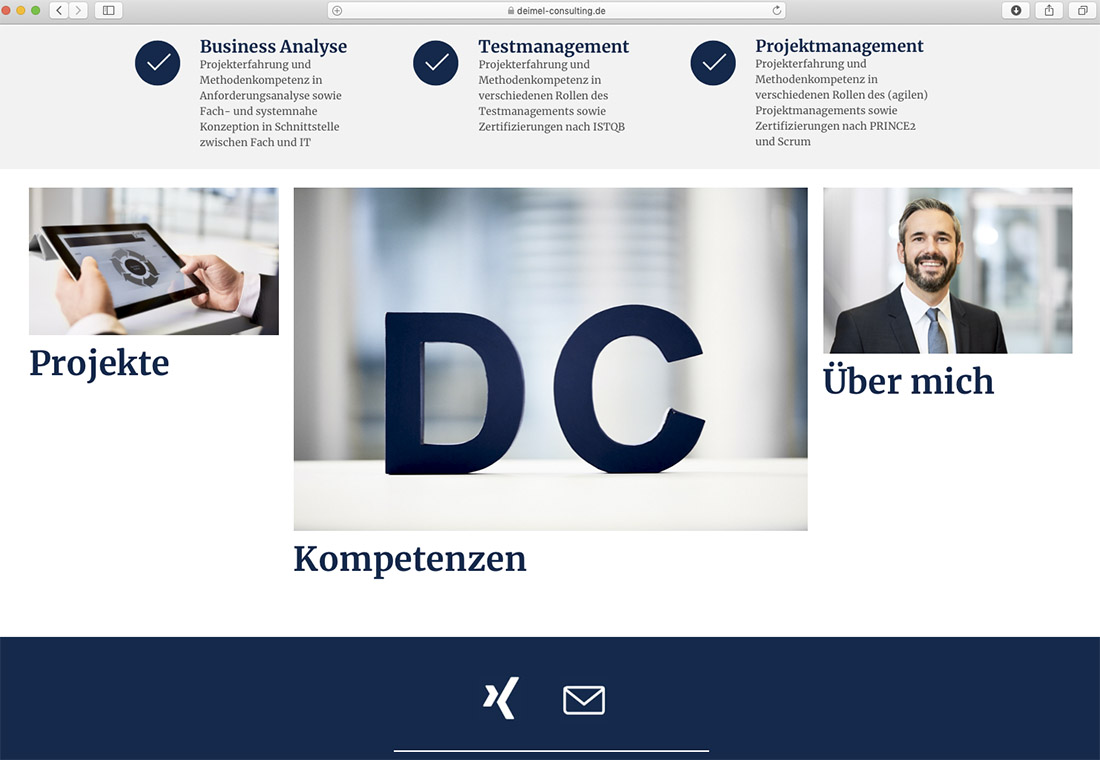 Businessbilder für Website & Homepage, Fotografin Stuttgart