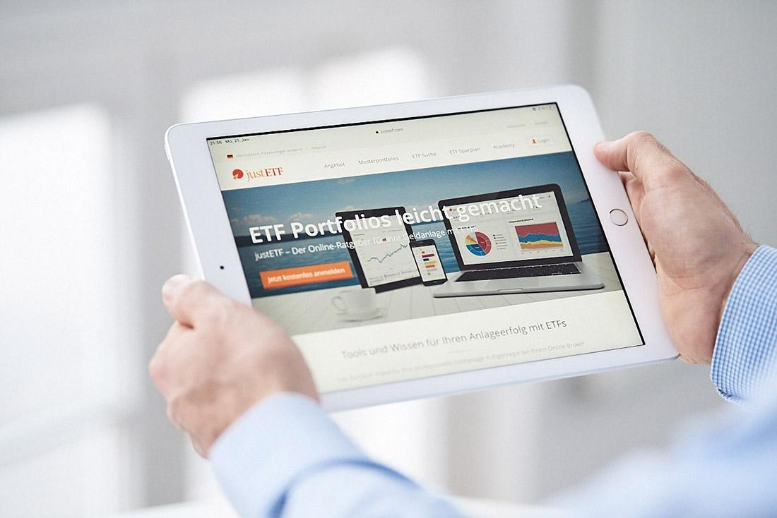 Businessfoto Fotograf iPad