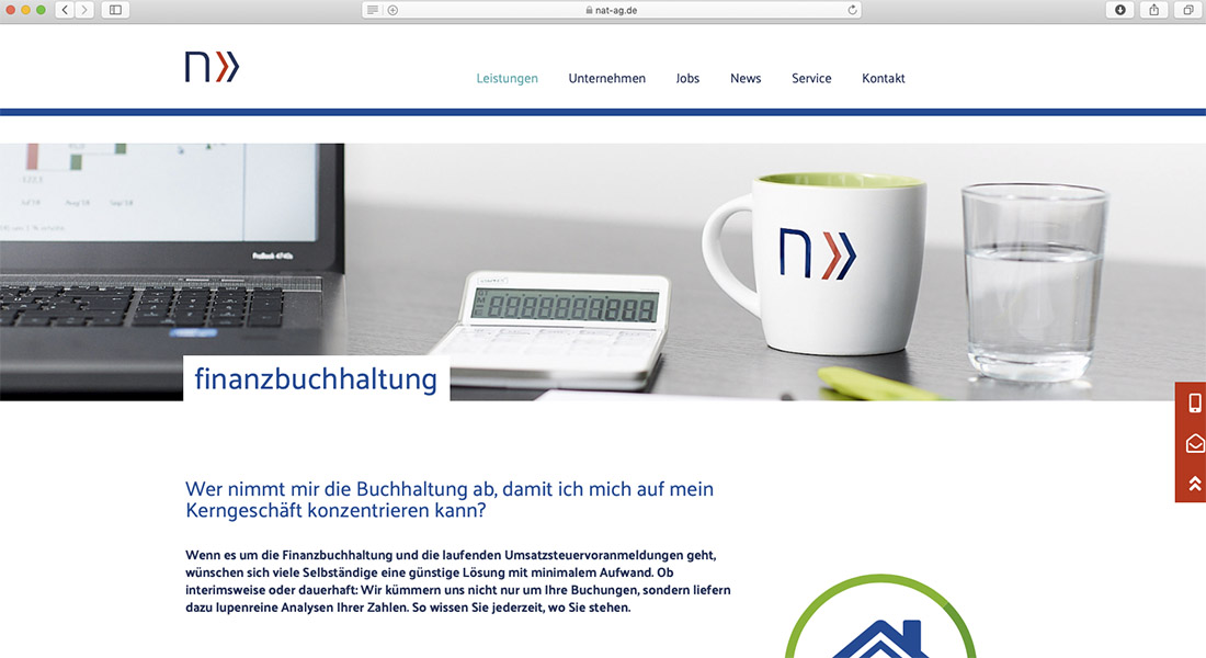 Headerbilder Website Steuerberatung