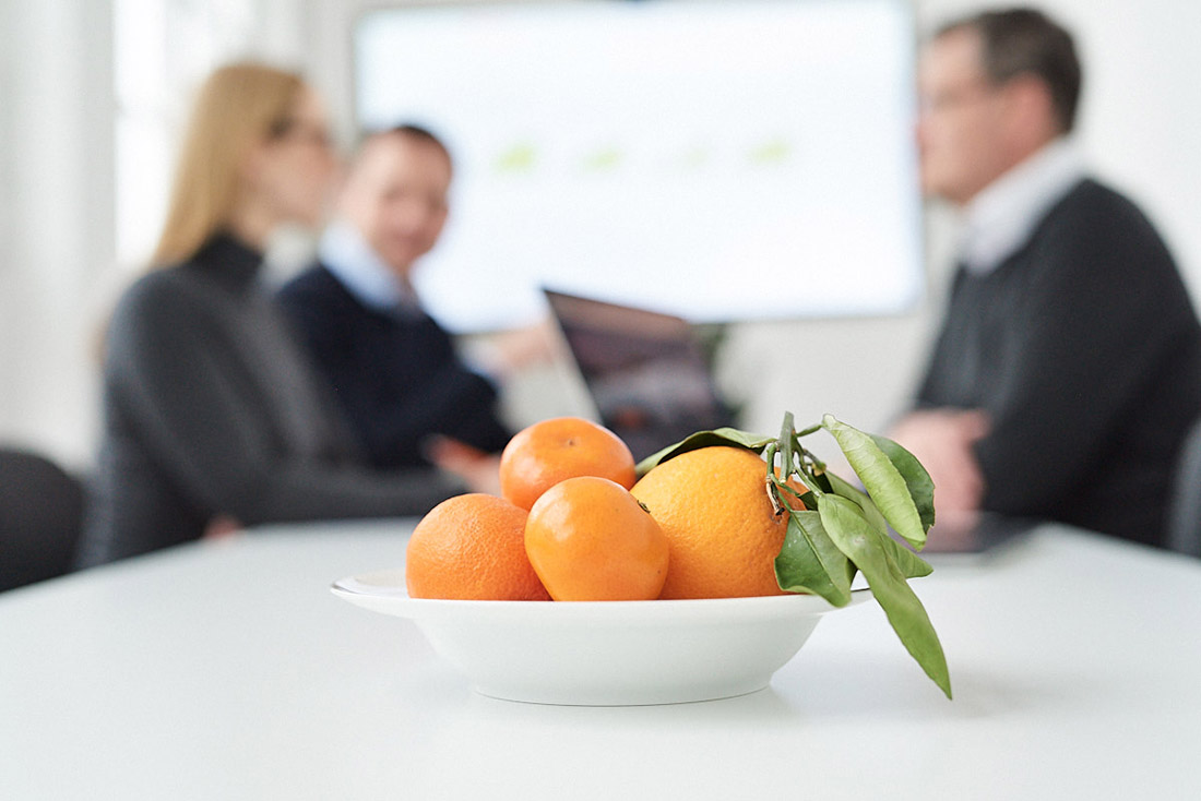 stimmungsbild Unternehmensfoto detail von besprechungstisch