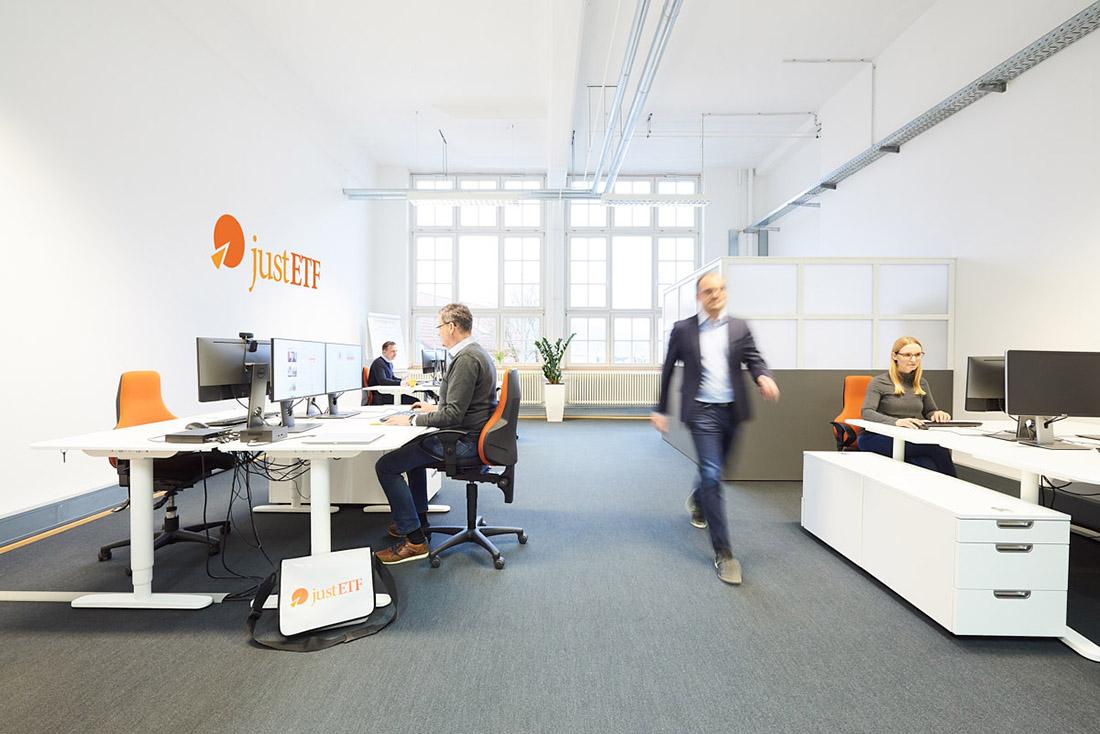 Unternehmensfoto von einer Raumaufnahme Büro in Reutlingen
