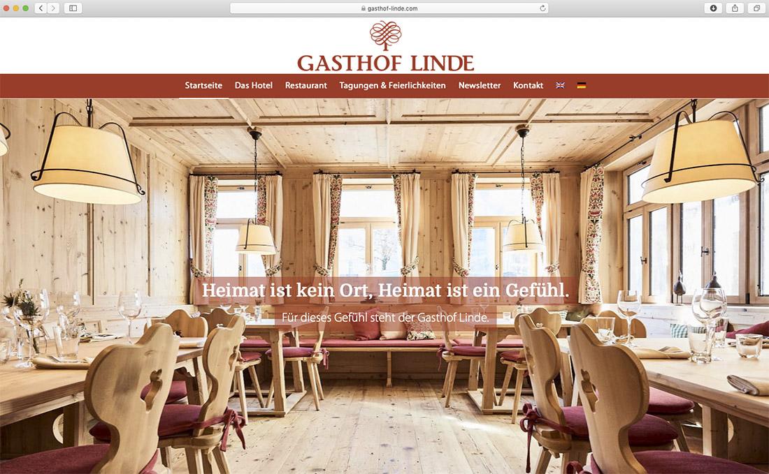 Werbebilder für Webseite von Hotel