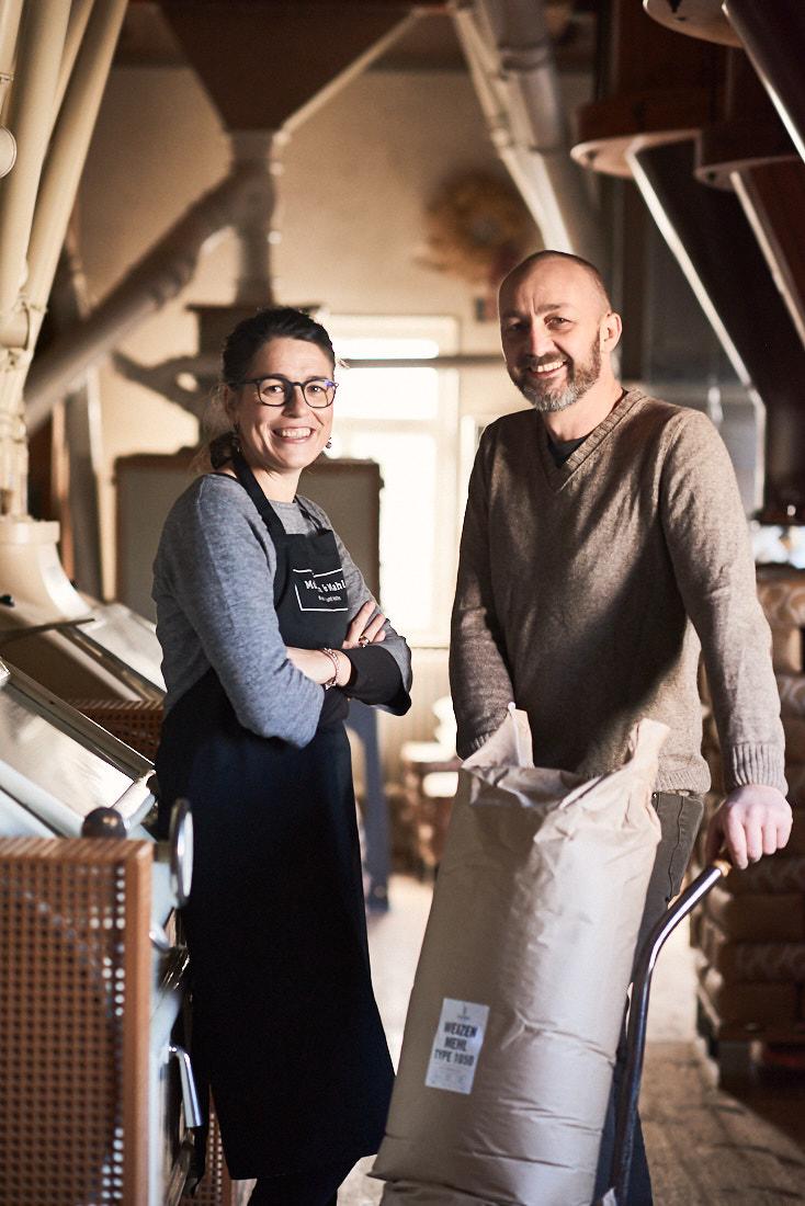 Fotoreportage Mühle Handwerk