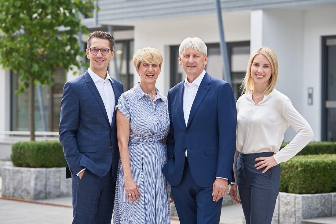 Unternehmensfotografie Inhaberfamilie, Unternehmerfamilie, Familienunternehmen